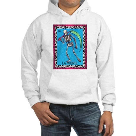 Vintage La Muerte Hooded Sweatshirt