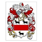 Hanley Coat of Arms Small Poster