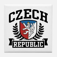Czech Republic Tile Coaster
