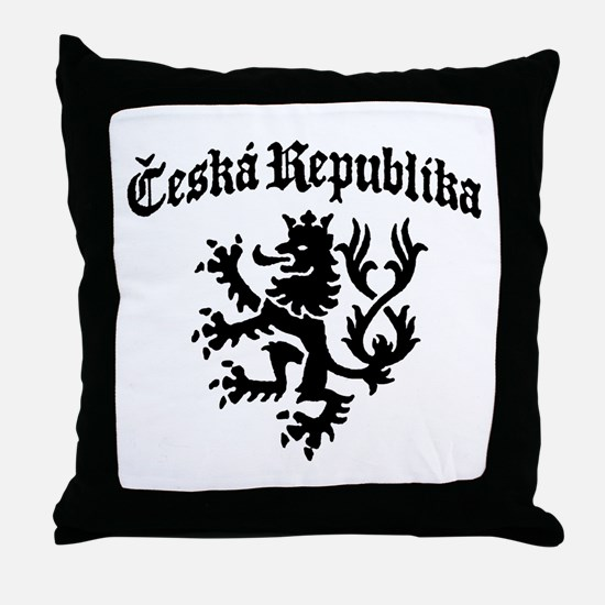 Ceska Republika Throw Pillow
