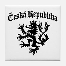 Ceska Republika Tile Coaster