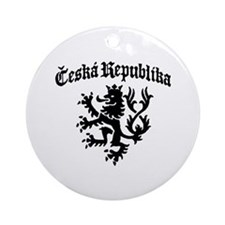 Ceska Republika Ornament (Round)