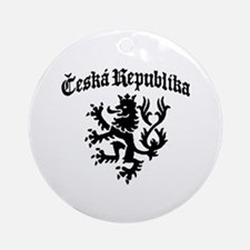 Ceska Republika Ornament (Round)