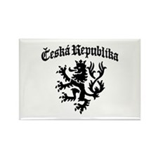 Ceska Republika Rectangle Magnet