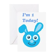 I'm 1 Bunny Greeting Card