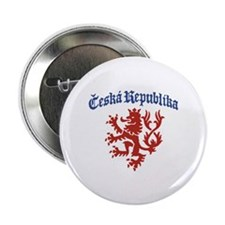 "Ceska Republika 2.25"" Button"