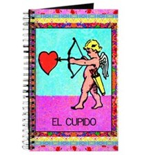 Vintage Loteria Cupid Journal
