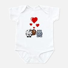 Valentine Beasts 2 Infant Bodysuit