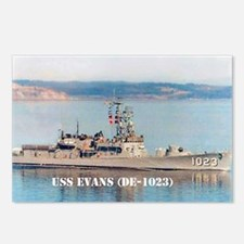 USS EVANS Postcards (Package of 8)