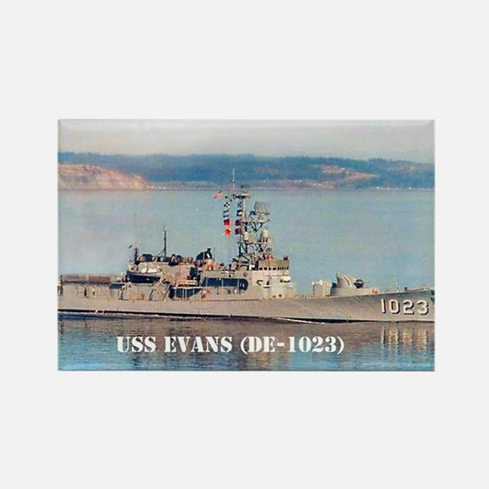 USS EVANS Rectangle Magnet