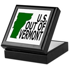 U.S. OUT OF VERMONT Keepsake Box