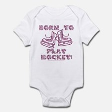 Born to Play Hockey Infant Creeper
