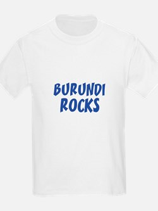 BURUNDI ROCKS Kids T-Shirt