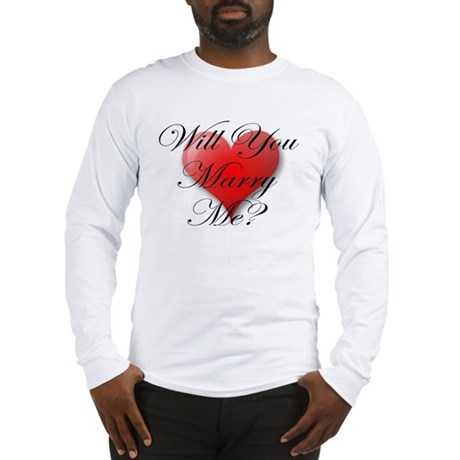 MARRY ME VALENTINE SHIRT Long Sleeve T-Shirt