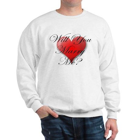 MARRY ME VALENTINE SHIRT Sweatshirt