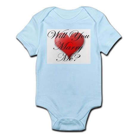 MARRY ME VALENTINE SHIRT Infant Creeper