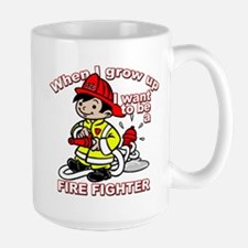 When I grow up Firefighter Mug