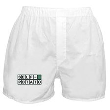Self Potato Puzzle Solved! Boxer Shorts