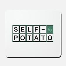 Self Potato Puzzle Solved! Mousepad