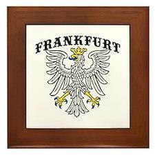 Frankfurt Germany Framed Tile