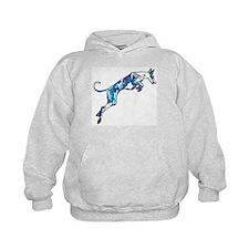 Ib in motion (blue) Hoody