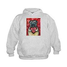 Pug Be Mine~2 Hoodie