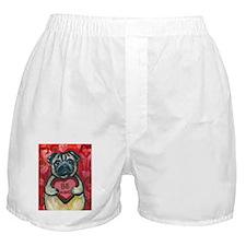 Pug Be Mine~2 Boxer Shorts