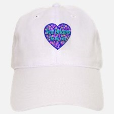 New Orleans The Big Easy Baseball Baseball Cap