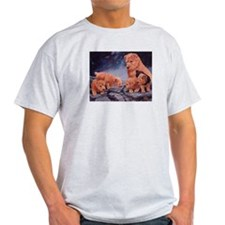 Norfolk Terriers Ash Grey T-Shirt
