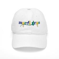 Mardi Gras bc Baseball Cap