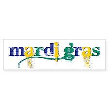 Mardi Gras bc Bumper Sticker