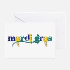 Mardi Gras bc Greeting Card