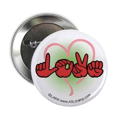 Love with Heart Button