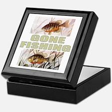 GONE FISHING Keepsake Box