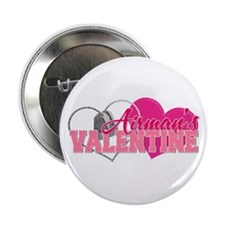 "Airman's Valentine 2.25"" Button"