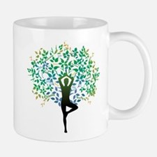 YOGA TREE POSE Small Small Mug