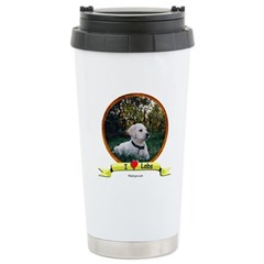 lab puppy Travel Mug
