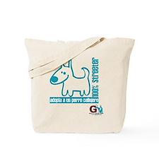 100% streeter / Adopta un per Tote Bag