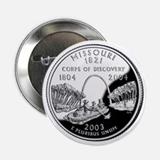 "Missouri State Quarter - 2.25"" Button"