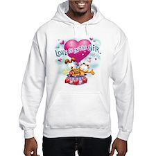 Love is in the Air Hooded Sweatshirt