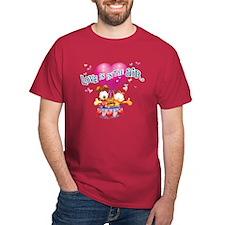 Love is in the Air Dark T-Shirt