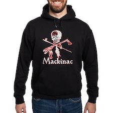 Mackinac Island Pirate Design Hoody