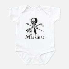 Mackinac Island Pirate Design Infant Bodysuit