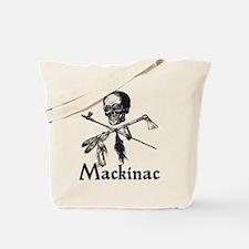 Mackinac Island Pirate Design Tote Bag