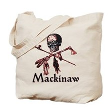 Mackinaw Pirate Tote Bag