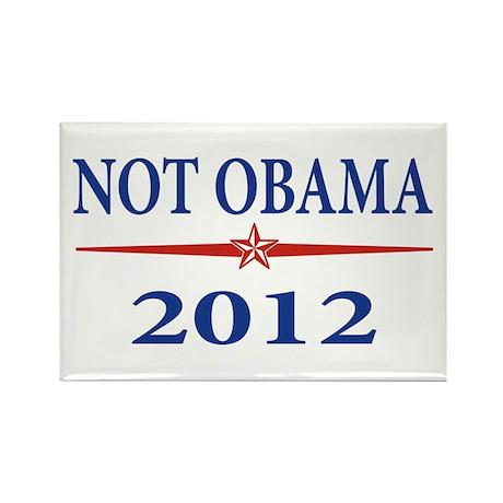 Nobama 2012 Rectangle Magnet (100 pack)