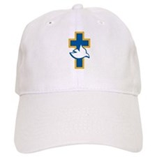 Dove and Cross Baseball Cap