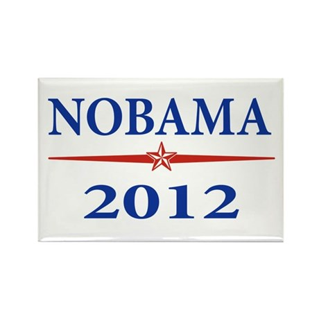 Nobama 2012 Rectangle Magnet (100 pack)