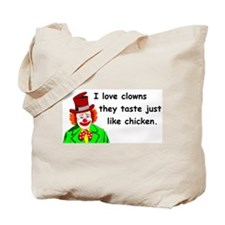 I love clowns Tote Bag