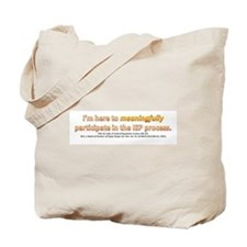 Unique Meaningful Tote Bag